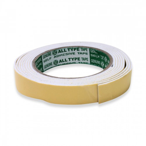 Double Sided Foam Tape - 1/2 inch