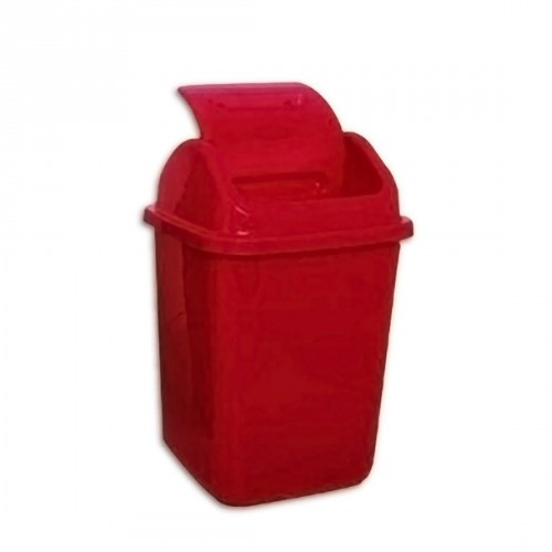 Plastic Dust Bin With Swing Lid