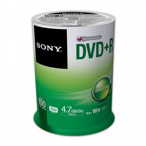 Sony DVD+R - 100 Pack Spindle
