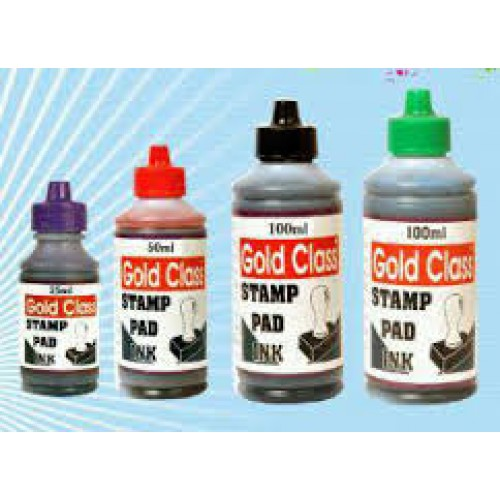 Stamp Pad Ink RED - 100 ml
